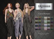 "KiB Designs - Cajsa Romper DEMO ""Wear"""