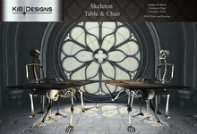 KiB Designs - Skeleton Table & Chair
