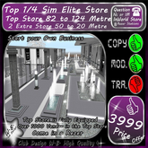 * Top New 1/4 Sim Elite Store * Fully Equipped *
