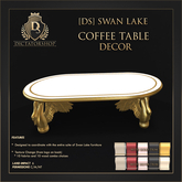 [Ds] SWAN LAKE Coffee Table DECOR
