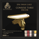 [Ds] SWAN LAKE Console Table DECOR