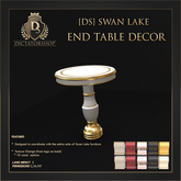 [Ds] SWAN LAKE End Table DECOR