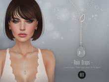 BEO_Rain_Drops_necklace_(WEAR ME TO UNPACK)