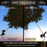 Realistic Animated Rope Swing