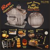 dust bunny & tenshi . pumpkin planter