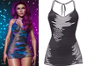 !PCP :: Narissa Dress [Eggplant]