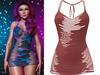 !PCP :: Narissa Dress [Sangria]