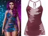!PCP :: Narissa Dress [Cherry]