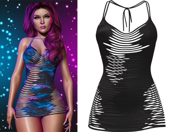 !PCP :: Narissa Dress [Black]