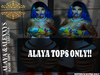 RML ALAYA BANDU TOPS {INITHIUM KUPRA BODY ONLY}