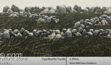 (Fundati) Nature Stone Wall W/Grass
