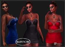 Baboom-Jody- minidress-red-maitreya-unapackME/HUD