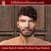 Lelutka Skyler & Athletic Meshbody Shape Maddock