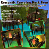 # Romantic Camping Dock Mesh - Couple Camping Kiss hugs & More