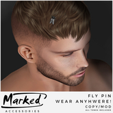 MARKED - Fly Pin