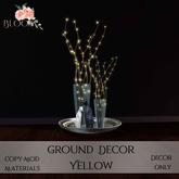 Bloom! - Ground Decor Yellow (Add me to Unpack)