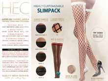 "HEC ""Cathy"" Tintable Fishnet-Mania Mesh Stockings OS-01F2 (UA)"