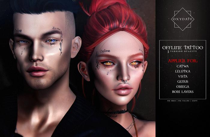 Oxydate. Offline Tattoo
