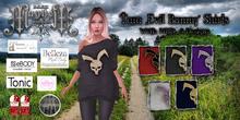 """**DM*Tara """"Evil Bunny"""" Shirts***"""