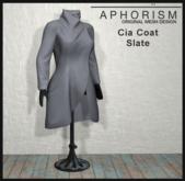 !APHORISM! - Cia Coat Slate