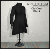 !APHORISM! - Cia Coat Black