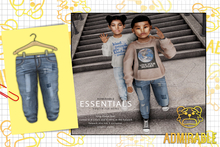 Admirable- Destroyed Skinny Jeans (Regular)