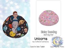 {SMK} Bixley Bean Bag | Unicorn