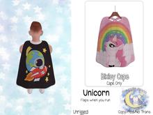 {SMK} Bixley Cape | Unicorn | Unrigged