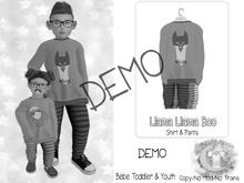 {SMK} Llama Llama Boo   DEMO   Bebe Toddler & Youth