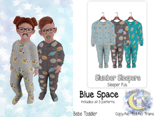 {SMK} Slumber Sleeper | Blue Space | Bebe Toddler