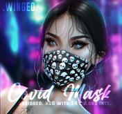 .WINGED. Covid Mask
