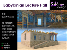 Babylonian Lecture Hall Sales Box