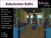 Babylonian Baths - Ancient Bathhouse