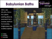 Babylonian Baths Sales Box