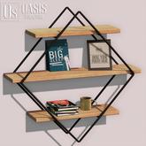Oasis: Diamond Floating Shelf