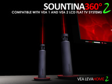 VEA Sountina 360 2 For VEA 1.xx and VEA 2 LCD Flat TV Systems