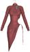 JF Design-Lea Dress-Maitreya-Belleza-HG-Legacy-Perky-Wine