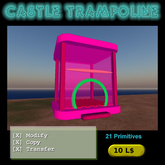Castle Trampoline Box
