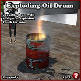EXPLODING OIL DRUM - Barrel of Fun!