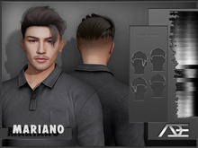 Ade - Mariano Hairstyle (Greyscale)