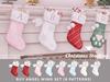 +Half-Deer+ Christmas Stocking [Angel Wing Set]