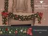 +Half-Deer+ Christmas Garland Set [Traditional]