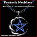 Knotted Moon Pentacle Necklace with Material Change Menu (Wiccan, Wicca, Pagan, Crescent)