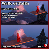 Walk of Faith - Invisible Bridge of Magic Tiles (skywalk walkway)