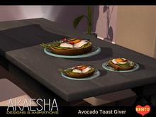 [Akaesha] Avocado Toast Giver Breakfast Food