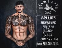 [ H O W L I N G ]-Bollax- Tattoo