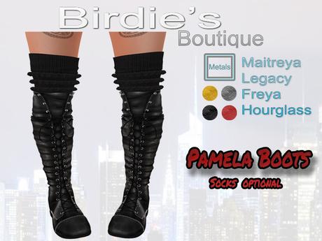 Birdie's Boutique - Pamela Boots - Black