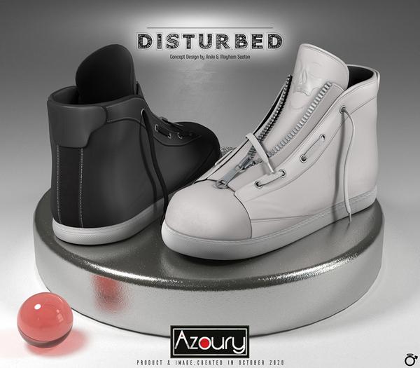 AZOURY - Disturbed