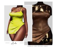 Vague. Anika Dress Chocolate