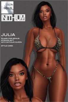 [Selene Creations] Julia Shape for Genus Strong Gift / Kupra